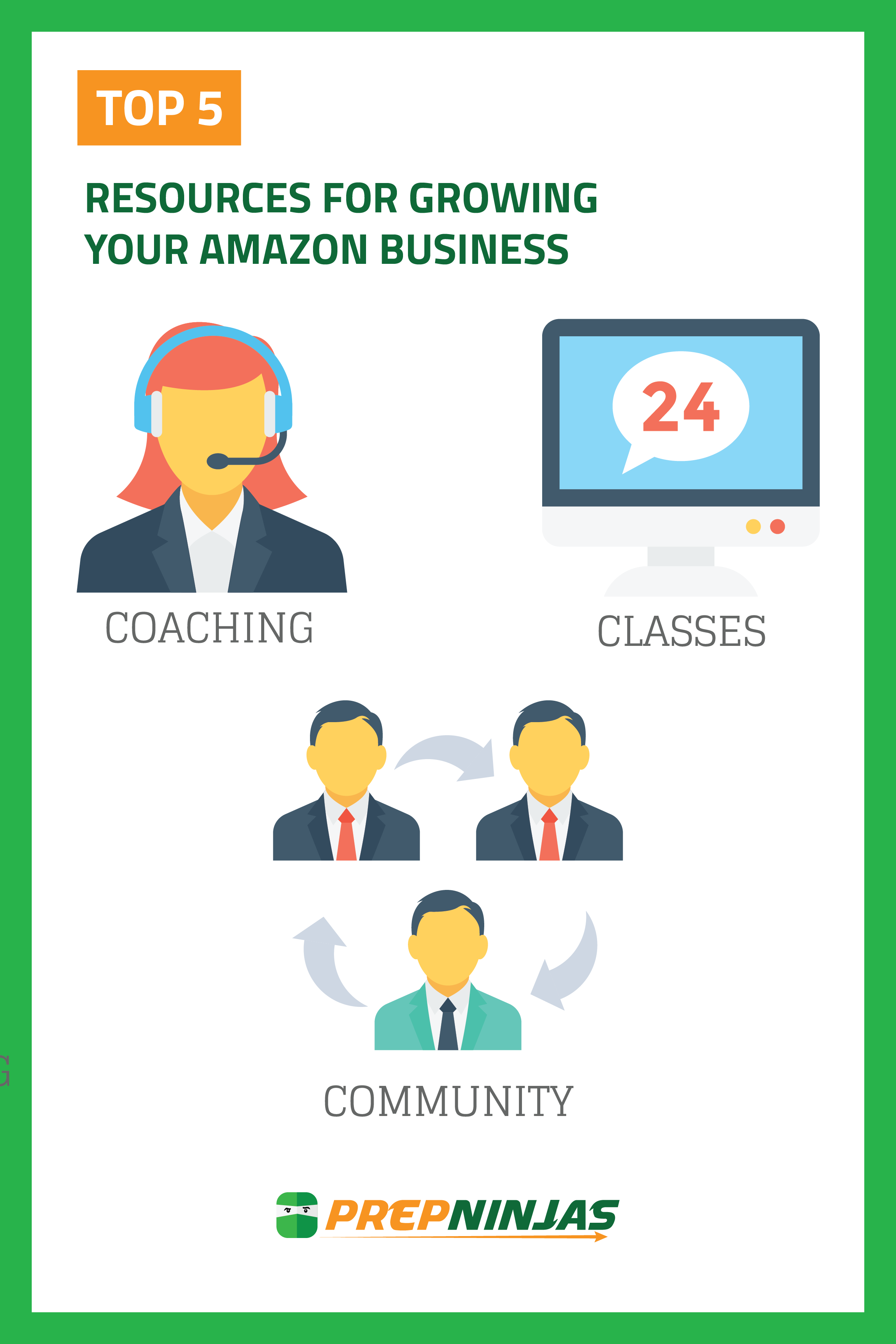 Top 5 Resources for Growing Your Amazon Business
